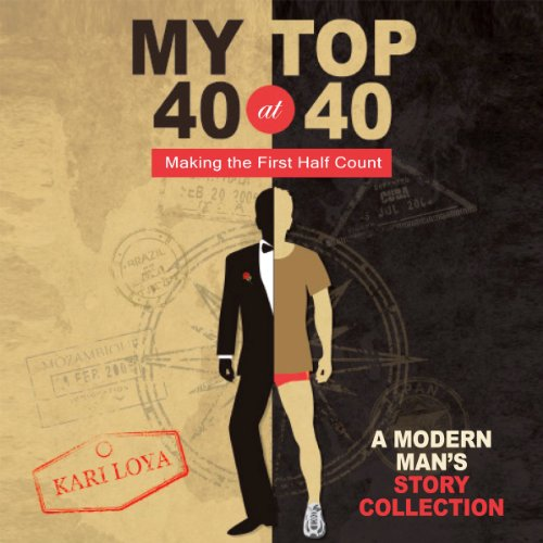 My Top 40 at 40 audiobook cover art