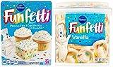 Pillsbury Funfetti Vanilla Frosting. Pillsbury Funfetti Vanilla Cake Mix. Artificially flavored. Gluten free. Kosher