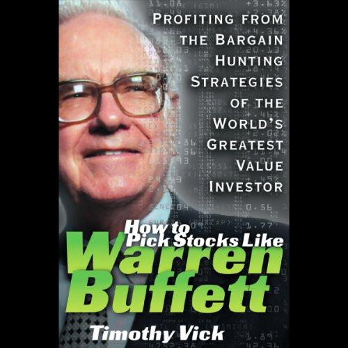 How to Pick Stocks Like Warren Buffett audiobook cover art