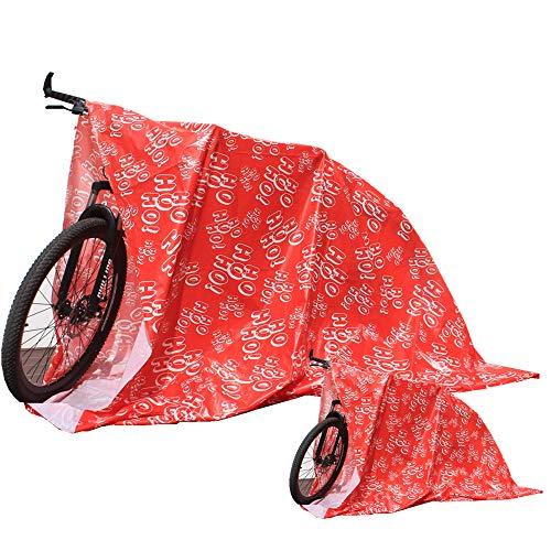 """Giant Gifts Jumbo Plastic Gift Bag Holiday Bike Gift Bag Christmas Gift Bags (76.4""""x60.2"""", 2 Pack)"""