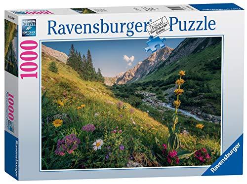 Ravensburger Puzzle 15996 - Im Garten Eden - 1000 Teile Puzzle für Erwachsene und Kinder ab 14 Jahren, Landschaftspuzzle mit Bergen
