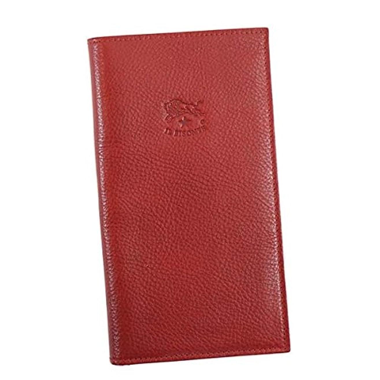 効率険しい展開する(イルビゾンテ) IL BISONTE WALLET フラップ長札入財布 #C0974 P 245 RUBY RED 並行輸入品