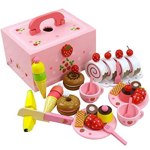 MONODY Juego de imitación–Cocina–Set de Dulces–Fresa Rosa