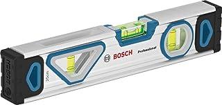 Bosch Professional vattenpass 25cm (kan avläsas från alla håll, aluminiumhus, robusta ändstycken, i blisterförpackning)