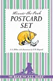 Winnie the Pooh Postcard Set by Milne, A. A. (August 28, 2014) Card Book