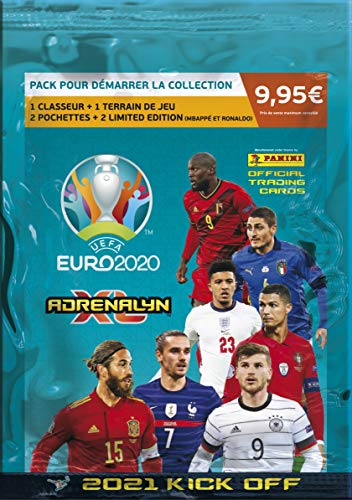 Panini UEFA EURO 2020™ Adrenalyn XL™ 2021 Kick Off official trading cards collection - Starterset