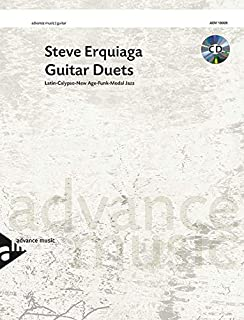 Guitar Duets - Latin-Calypso-New Age-Funk-Modal Jazz - 2 guitars - edition with CD - [Language: German & English & French]...