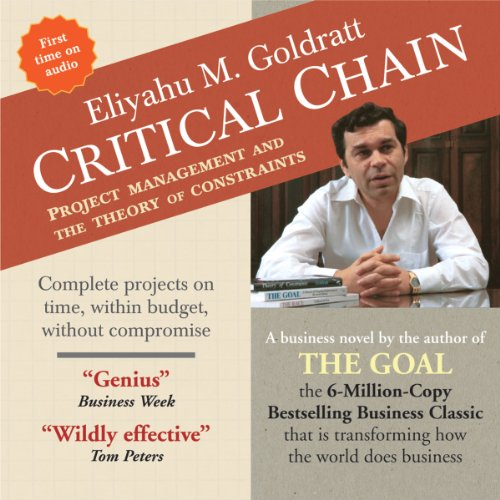 Critical Chain audiobook cover art