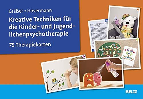 Kreative Techniken für die Kinder- und Jugendlichenpsychotherapie: 75 Therapiekarten. Kartenset mit 75 Bildkarten und 32-seitigem Booklet. Mit Online-Material (Beltz Therapiekarten)