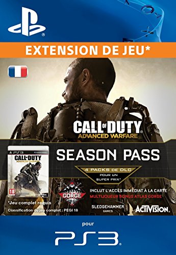 Call of Duty Advanced Warfare Season Pass [Code Jeu PSN PS3 - Compte français]