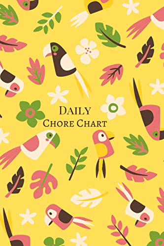 Daily Chore Chart: Plan out Your Chores with Check Lists and To Do Lists, Organizer Log Book, Discover the Easy Way to Remember and Space for Additional Notes, Creative Gift Suitable for All Ages