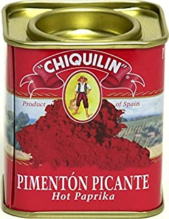 Chiquilin Hot Paprika 2.64 oz Tin (Pack of 6)