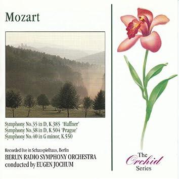Mozart: Symphonies 35, 38 & 40