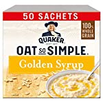 Quaker Oat So Simple Golden Syrup Porridge 50x36g (Packaging may vary)
