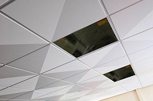 Infrarotheizung 450D Watt, HDW-Glasheizung, Rasterdecke, Odenwalddecke, 62x62