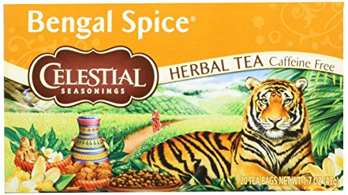 Celestial Seasonings Bengal Spice Tea, 20 Count, 1.7 Oz