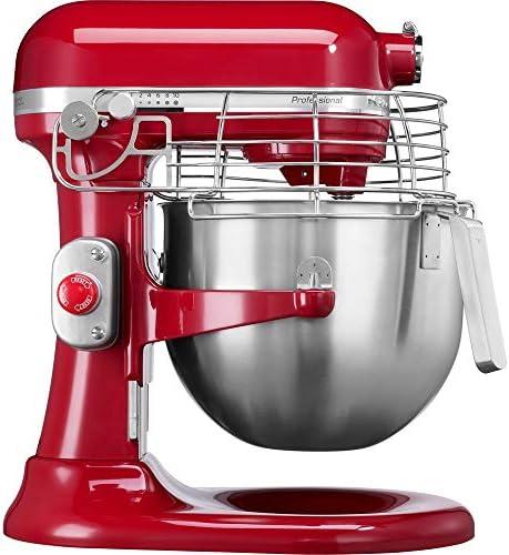 KitchenAid 5KSM7990XBER BER Planetenmischer, Rot, 6.9 L