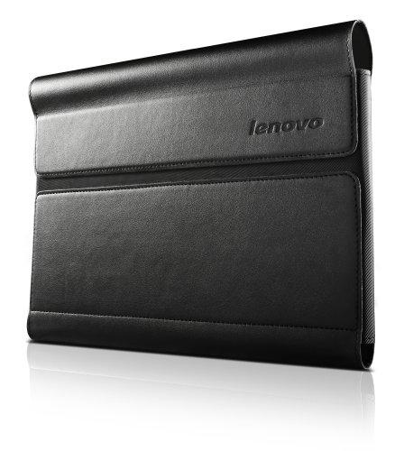 Lenovo Ultra Slim umklappbare Schutzhülle für Yoga Tablet (10 Zoll) inkl. Displayschutzfolie schwarz