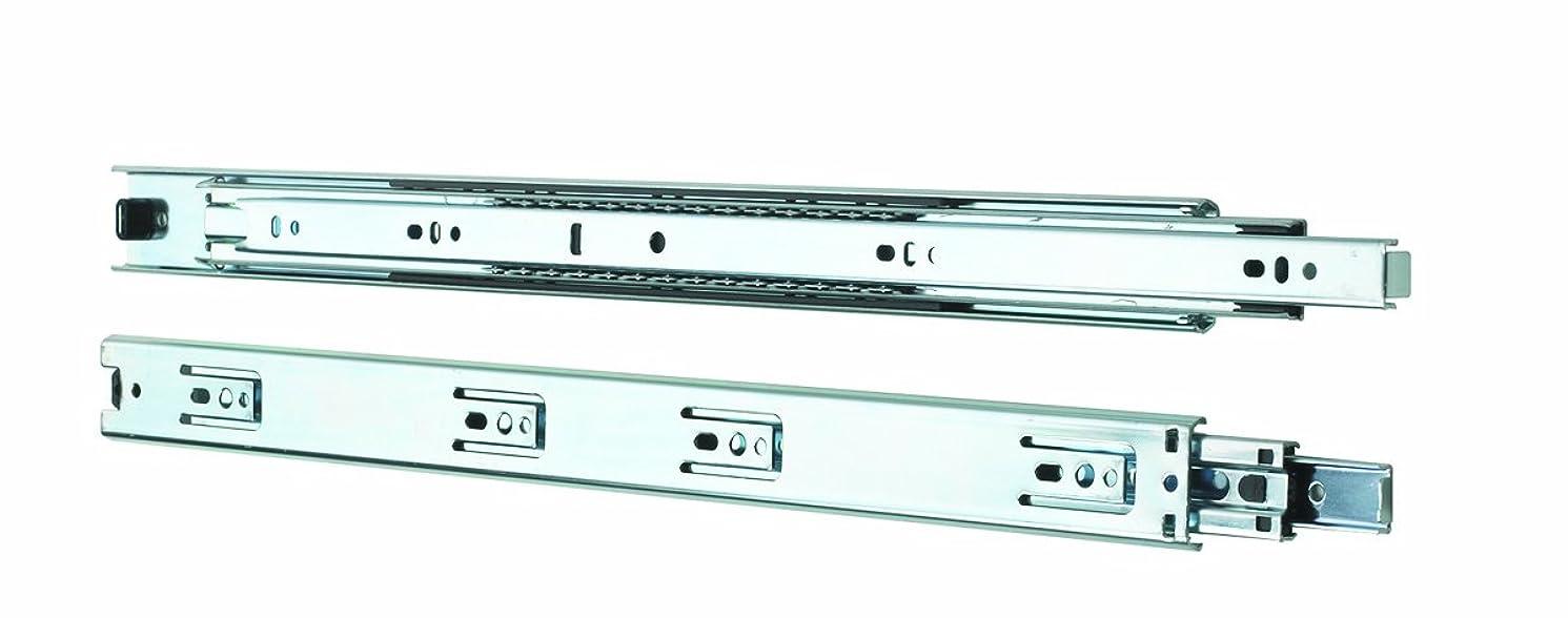 Knape & Vogt 4100P 20 Side Mount Full Extension Drawer Slide, 20-Inch, Pair