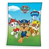 Paw Patrol Decke kuschelig und weich 130x170 cm · Fleece-Decke für Mädchen & Jungen · Kuscheldecke