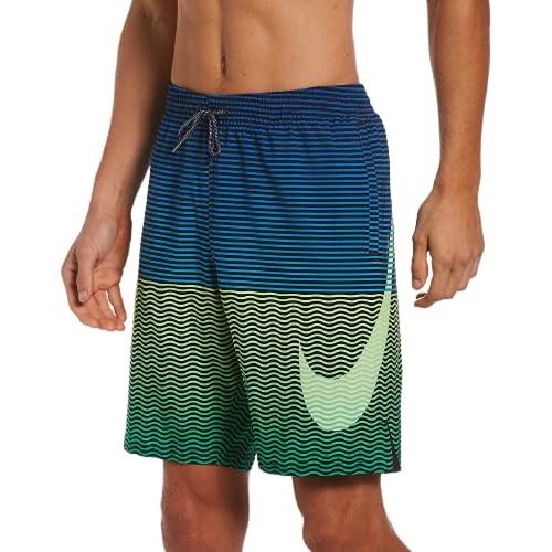 Nike Volley Pantaloncini da Bagno da Uomo, Uomo, Costume da Bagno, NESSB508-387, Verde (Ghost Green), S