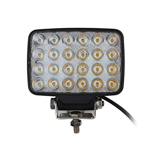 HYY-AA LED Light Work 72 W LED Light Bar Offroad Wasserdicht Fahren für die Arbeit Leichter Projektor Gabelstapler Schaufel LKW leicht