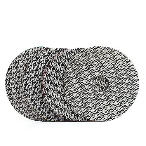 Almohadilla de pulido de diamante 4 pulgadas 100 mm almohadilla de pulido electropotécnica remoción rápida de azulejo de vidrio de hormigón de hormigón de piedra que se lija el pulido de metales Fuert