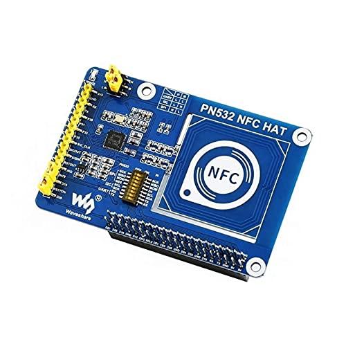 Auoeer PN532 NFC Hat para Raspberry Pi, admite Tres interfaces de comunicación: I2C, SPI y UART
