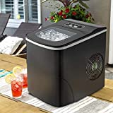 Tavata Countertop Portable Ice Maker Machine, 9 Ice Cubes Ready in 8...