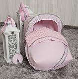 Babyline Bombón - Saco porta bebé, grupo 0, color rosa