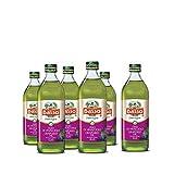 Basso Olio di Semi di Vinacciolo alimentare da condimento in confezione da 6 bottiglia di vetro da 1 litro