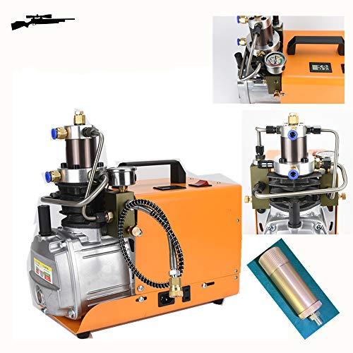 High Pressure Air Compressor Pump 30MPA-Electric PCP Air Compressor 4500PSI 2800R/Min pump for Airgun Scuba Rifle(0.5L 4 Minutes) By MOMAA