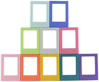 ENJOY-UNIQUE - Marco de Fotos magnético para Fujifilm Instax Mini 8/8 + Mini 9 álbum de Fotos para frigorífico 10 Unidades