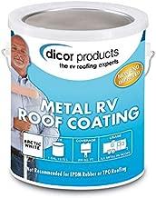 Dicor Corporation RP-MRC-1 Elastomeric Coating 1 Gallon, White