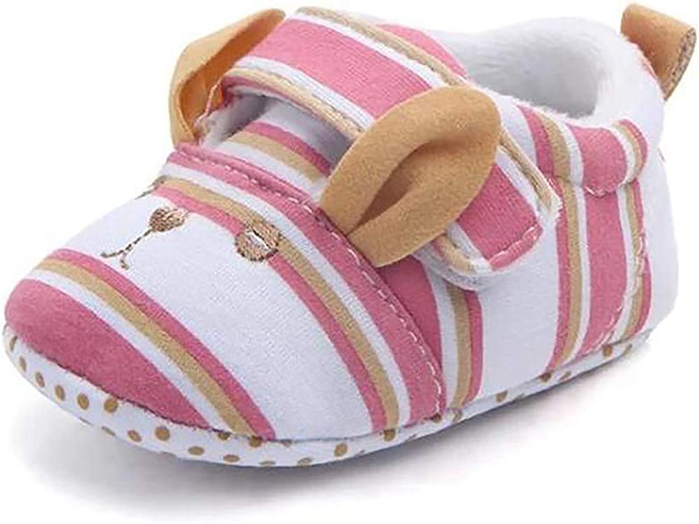 Dharma & Me Baby Slippers   Warm, Soft, Anti Slip Soles   First Walker, Newborn, Infant, Toddler Crib Shoes