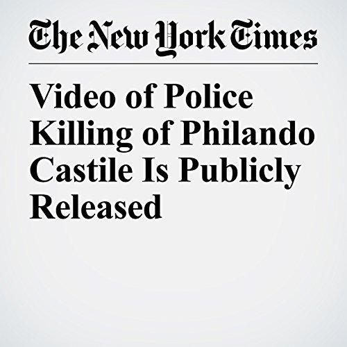 Video of Police Killing of Philando Castile Is Publicly Released copertina