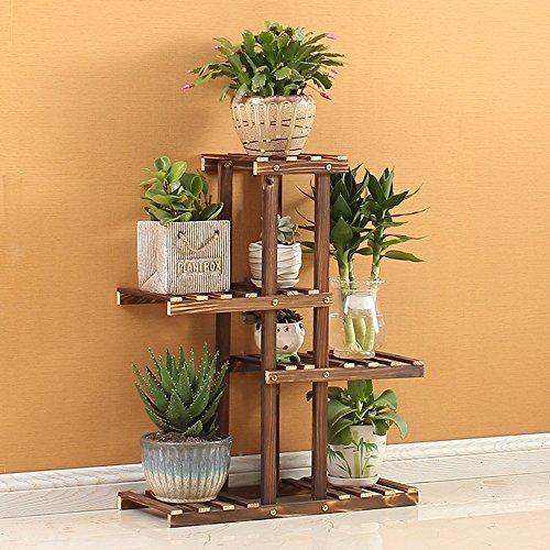 Gouden kroonluchter bloemenstandaard hout bloemenstandaard modern minimalistisch bloemenstandaard mini houten plank magazijnrek display tafel bloemenstandaard bloemenstandaard decoratie, h72 cm L56 cm