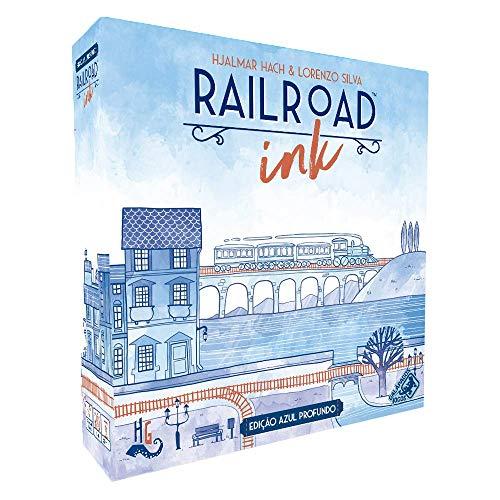 Railroad Ink. Edição Azul Profundo Galápagos Jogos Diversos