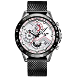 Angie Wood Creations Ebony Men's Watch with...
