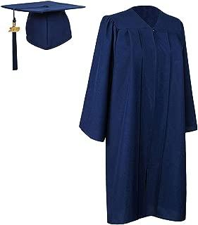 Matte Graduation Gown Cap Tassel 2019