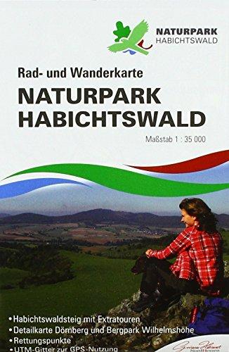 Naturpark Habichtswald: Rad- und Wanderkarte (reiß- und wetterfest)
