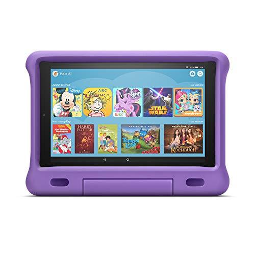 Kindgerechte Hülle für Fire HD 10-Tablet (kompatibel mit Tablets der 9. Generation, 2019), Violett