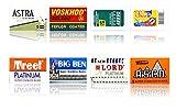 Cuchillas de afeitar Astra Voskhod, Derby, Shark, Treet, Lor