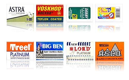 Cuchillas de afeitar Astra, Voskhod, Derby, Shark, Treet, Lo
