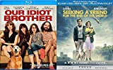 Quirky Indie Dark Comedies: Seeking A Friend For The End Of The World (Blu-Ray/ DVD/ HD Digital) + Our Idiot Brother (Blu-Ray) Bundle