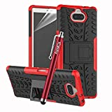 iCatchy For Sony Xperia 10 Case Heavy Duty Tough Rugged