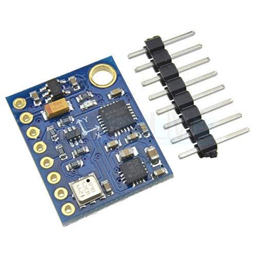 ZTSHBK GY-87 10DOF-Modul MPU6050 HMC5883L BMP180 Gyroskop-Beschleunigungskompassmodul für Arduino