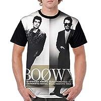 3d プリントメンズ Boowy (8) 半袖 男女兼用 夏服 吸水速乾 上質トップス 通勤 通学 おおきいサイズ 薄手 Tシャツ 日常用 おしゃれ シンプル 柔らかい 快適 運動 ティーシャツs