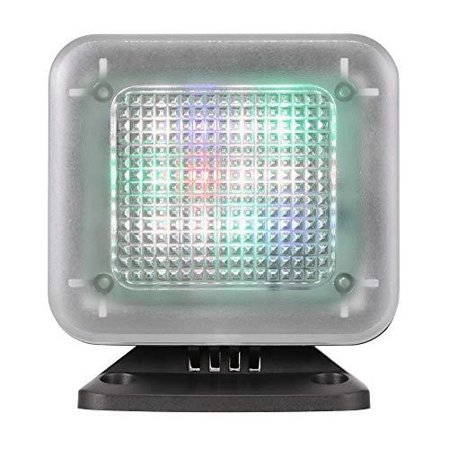 LED TV Simulator, SUNJULY 2W 4 Modos Luz de TV Falsa alimentada por USB, Encendido automático, con Temporizador y Sensor de luz Protección contra robos Seguridad para el hogar, Negro