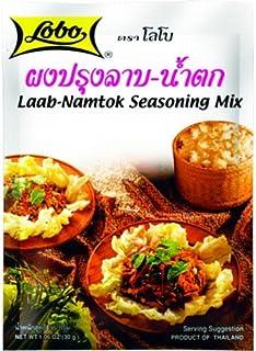 Lobo Laab-namtok Seasoning Mix 30g. Thai Food. X3 Pcs. Save !! + Halal